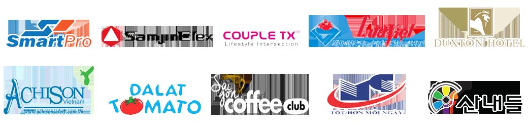 Các thương hiệu đã hợp tác với DHTax 2