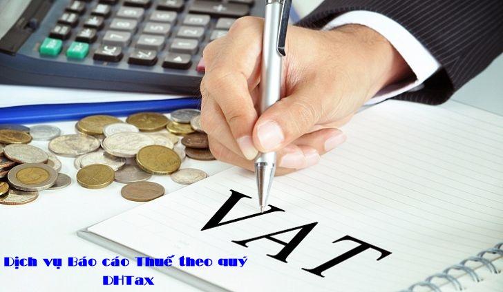 Dịch vụ Báo cáo thuế theo quý tại quận Bình Thạnh