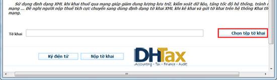 Cách nộp tờ khai thuế qua mạng đơn giản 2018 13