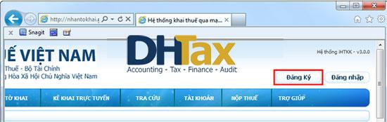 Cách nộp tờ khai thuế qua mạng đơn giản 2018 21