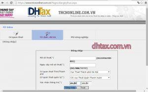 Các bước đăng ký mã số thuế thu nhập cá nhân qua mạng mới nhất 5