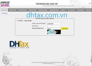 Cách tra cứu mã số thuế TNCN và thông tin doanh nghiệp bằng trang web tncnonline.com.vn