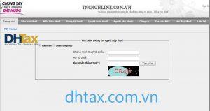 Trang web giúp tra mã số thuế cá nhân online - tncnonline.com.vn