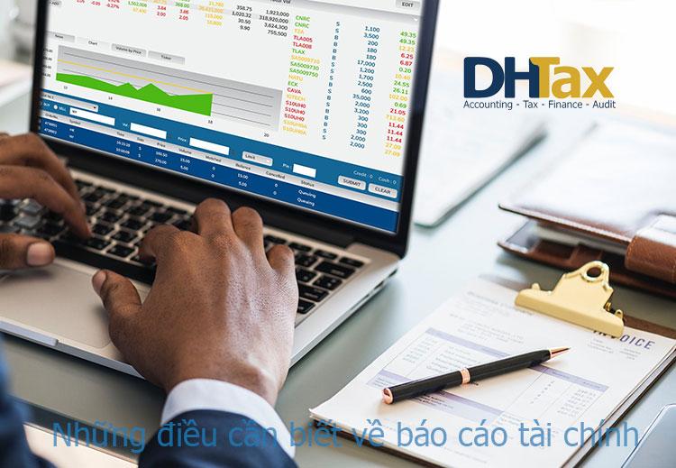 12 điều bạn cần biết về báo cáo tài chính 2