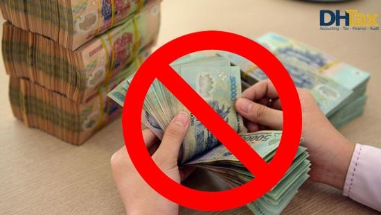 Không dùng tiền mặt nộp thuế, phí cho cơ quan hải quan từ 01/04/2019